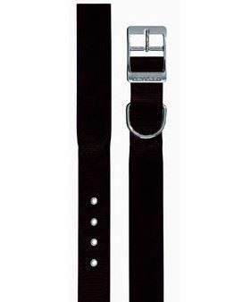 Obojok nylon DAYTONA C čierny 35cmx15mm