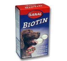 Sanal pes Biotín s vitamínmi 100tbl  VÝPREDAJ