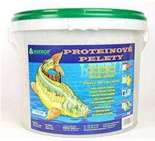 Proteínové pelety pre kaprov granule 6mm 5kg Med