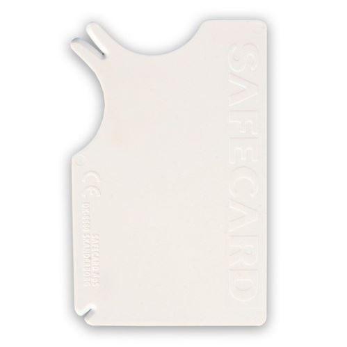 SAFECARD - plastová karta na vyťahovanie kliešťov 8x5 cm VÝPREDAJ