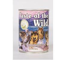 Taste of the Wild konzerva Wetlands Wild Fowl 375g