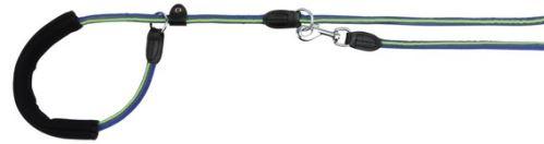 FUSION guľaté vodítko Retríver s gum.rukojetí M-XL 1,90 / 13mm čierno-oranžový