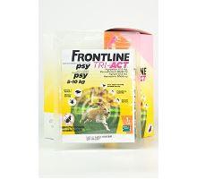 Frontline Tri-Act pre psov Spot-on S (5-10 kg) 1 pip