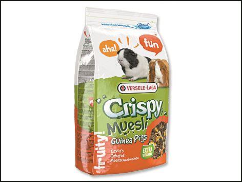 Krmivo Versele-LAGA Crispy Müsli pre morčatá 1kg