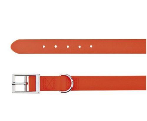 Easy Life obojok PVC M - L 43-51 cm / 20 mm neon oranžový