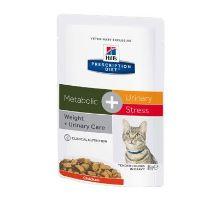 Hill 'Feline vrecko Adult Metabolic + Urin. stres 12x85g