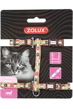 Postroj mačka ARROW nylon čokoládový Zolux