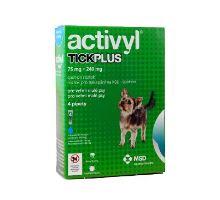 Activyl Tick plus Toy Dog 75 + 240 mg spot-on 4x0,5ml