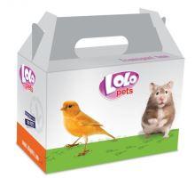 Lolopets kartónová škatuľa na transport malá 14x9x8 cm