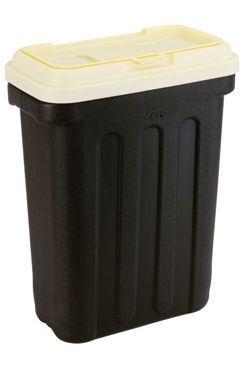 MAELSON Box na granule čierna / slonová kosť 7,5kg