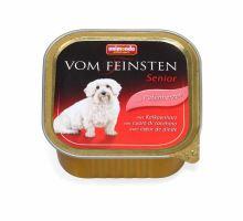Animonda paštéta SENIOR - morčacie srdiečka pre starších psov 150g
