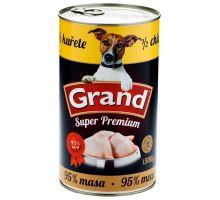 GRAND konz. pes Extra s 1/2 kurčaťa 1300g