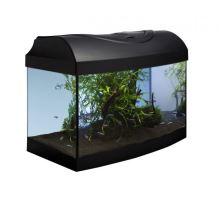 Akvarijní set 40 - černý oblý 40x25x25 cm