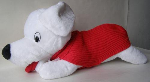 Pletený sveter jednofarebný 59cm