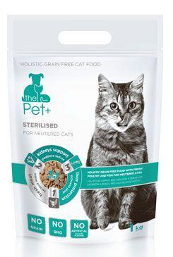 Krmivo Pet + 3v1 mačka STERILISED 1kg