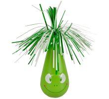 Flamingo Interaktívna hračka pre mačky hojdacia Crazy Frog zelená 6,5 x 20cm