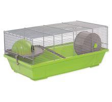 Klietka SMALL ANIMAL Erik šedo-zelená so šedou výbavou 1ks
