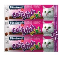 Vitakraft Cat Stick MINI pečeň a hydina 18g