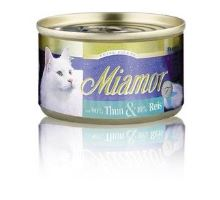 Miamor Cat Filet konzerva tuniak + ryža 100g