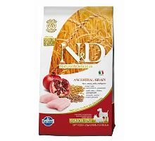 N & D Low Grain DOG Senior S / M Chicken & Pomegranate 800g