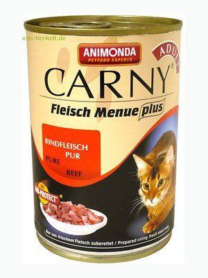 Animonda konzerva CARNY Adult - hovädzie 200g