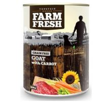 Topstein Farm Fresh Goat with Carrots 400g