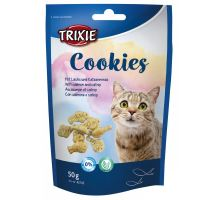 COOKIES s lososom a catnipom 50 g
