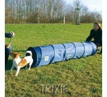 Agility tunel - malý pes, šteňa, 40cm/2m - modrý