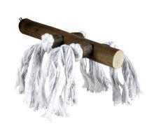 Drevené bidielko s bavlnou veľké 25cm / 25mm