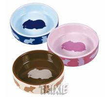 Keramická miska pre škrečky farebná 80 ml / 8 cm