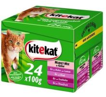 Kitekat vrecko Mix menu 24x100g