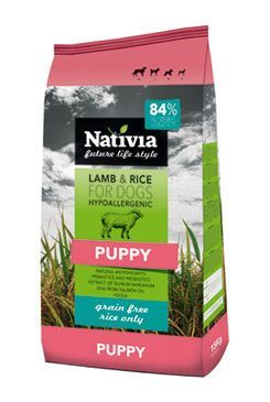 Nativite Dog Puppy Lamb & Rice 15kg