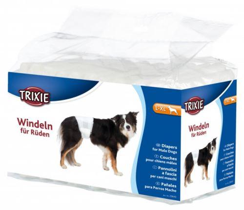 Papierové plienky pre psov L-XL 60-80 cm [12 ks / bal.]