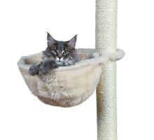 Náhradné odpočívadlo - vrece, plyšové, béžové 38 cm