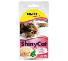 Gimpet mačka konz. ShinyCat kura / krab 2x70g