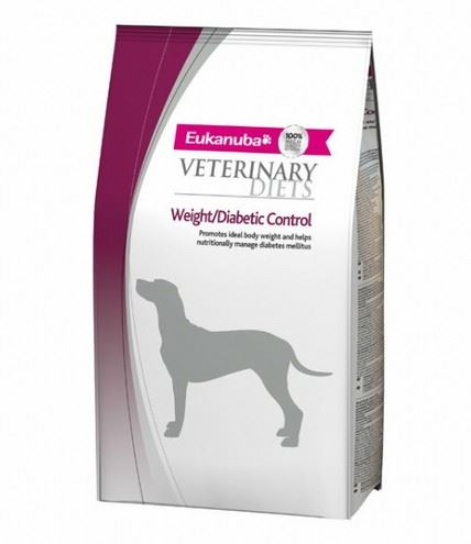 Eukanuba VD Dog Glucose / Weight / Diabetic Control 1kg exp. 29.10.2018