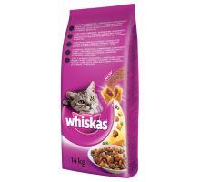 Whiskas Dry s hovädzím mäsom 1,5 kg