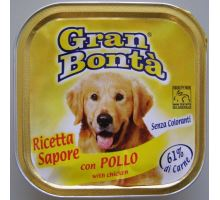 Gran Bonta paštéta s kuracím mäsom pre psov 150g