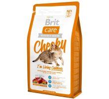 Brit Care Cat Cheeky I´m Living Outdoor 2 balenia 7kg