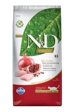 N & D PRIME CAT Neutered Chicken & Pomegranate 5kg