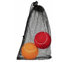 Tenisový míč barevný 6 cm, baleno v síťce 1ks