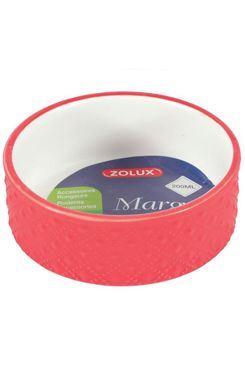 Miska keramická MARGOT hlodavec 100ml červená Zolux