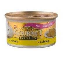 Gourmet Gold konzerva mačka jemná paštéta kura, pečeň 85g