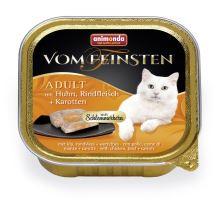 V.Feinsten CORE kuřecí, hovězí maso + mrkev pro kočky 100g