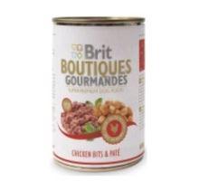Brit Boutiques Gourmandes Chicken Bits & Paté 400g  VÝPREDAJ