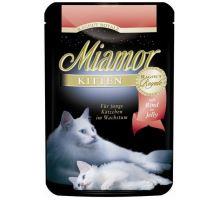 Miamor Cat Ragout Junior vrecko hovädzie 100g