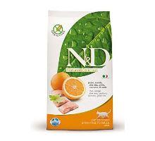 N&D Grain Free CAT Adult Fish & Orange 2 balenia 10kg