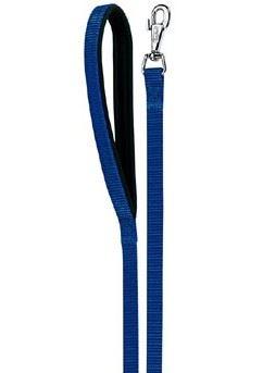 Vodítko nylon DAYTONA Ploché modré 120-200/20
