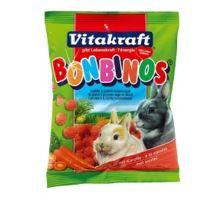 Vitakraft králiček Bonbinos s mrkvou 40g