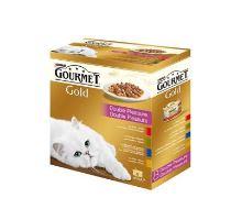 Gourmet Gold Mltp konz.mačka kúsky duš.a gril.8x85g